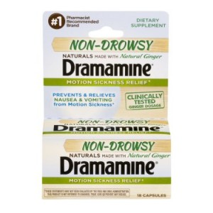 Dramamine Non-Drowsy Motion Sickness Relief, 16.0 CT