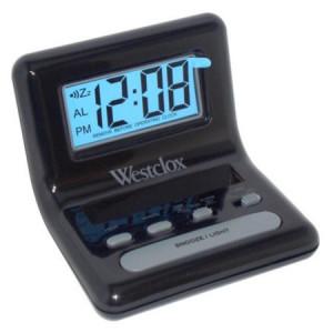 Westclox 47538 Lcd Digital Bedside Alarm Clock