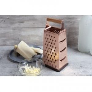 Thyme & Table Multi-Purpose 4 Sided Copper Box Grater