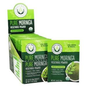 Kuli Kuli Pure Moringa Powder, 0.4 Oz, 20 Ct