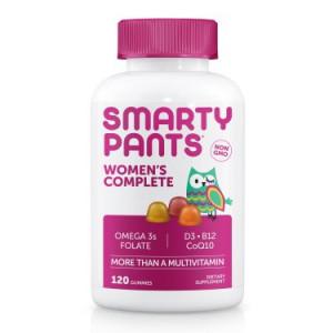 SmartyPants Womens Complete Dietary Supplement  120 CT Gummies