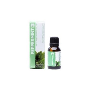 Gurunanda Aromatherapy Essential Peppermint Oil, 100% Pure and Natural, 15 ml