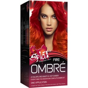 Splat Fire Ombre, Semi-Permanent Hair Dye for All Hair Colors