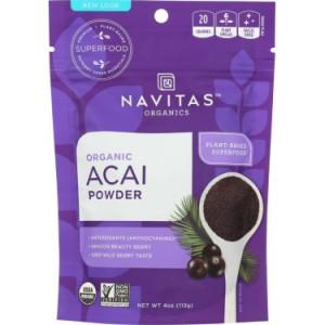 Navitas Organics Acai Powder, 4.0 Oz, 38 Servings