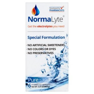 NormaLyte Pure Special Formulation, 0.38 oz, 6 count