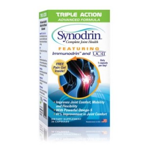 Synodrin Complete Joint Health Triple Action Advanced Formula with UCII Capsules, 30 Ct