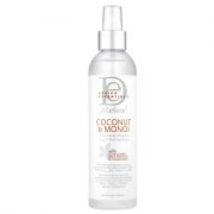 Design Essentials Coconut and Monoi Water 8-ounce Curl Refresher