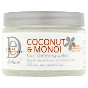 Design Essentials Natural Coconut & Monoi Curl Defining Gele, 12 oz