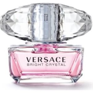 Versace Bright Crystal Eau De Toilette Spray, Perfume for Women, 1.7 Fl Oz