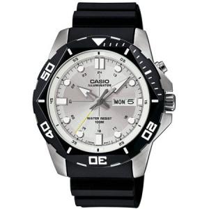 Casio Men's Dive Style Watch, Black Resin Strap