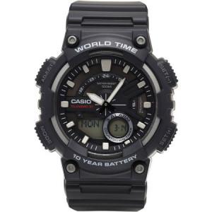Casio Men's Ana-Digi Watch, Black, AEQ110W-1AVCF