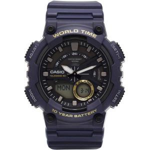 Casio Men's Ana-Digi Watch, Blue, AEQ110W-2AVCF