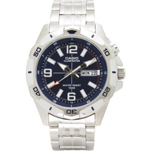 Casio Men's Dive Style Stainless Steel Watch, MTD1082D-2AVCF