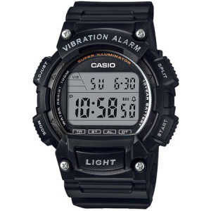 Casio Men's Sport Digital Watch with Vibration Alarm, Black