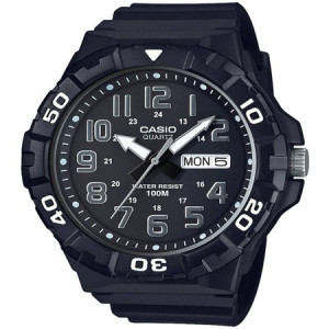 Casio Men's Dive Style Watch, Black Resin Strap