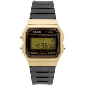 Casio Men's Digital Watch, Gold/Black