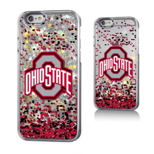 Ohio State University Gold Glitter Case for the iPhone 6 / 6S / 7 / 8 NCAA