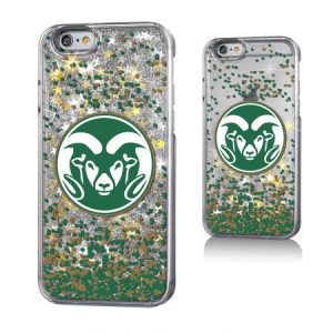 Colorado State University Gold Glitter Case for the iPhone 6 / 6S / 7 / 8 NCAA