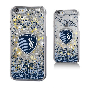 Sporting Kansas City Gold Glitter Case for the iPhone 6 / 6S / 7 / 8 MLS