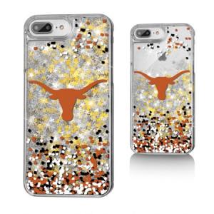 UT Texas Longhorns Confetti Glitter Case for iPhone 8 Plus / 7 Plus / 6 Plus