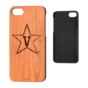 Vanderbilt University Cherry Wood iPhone 7 / iPhone 8 Case NCAA