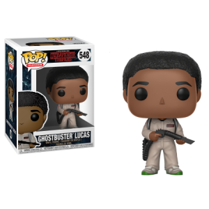 FUNKO POP! TELEVISION: Stranger Things - Lucas Ghostbusters