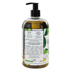 Pure Life Shampoo, Green Tea, 15 Fl Oz