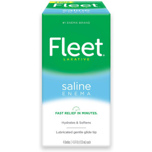 Fleet Saline Enema Laxative