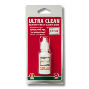 DustAid 15ml Ultra-Clean Sensor Filter Cleaning Fluid