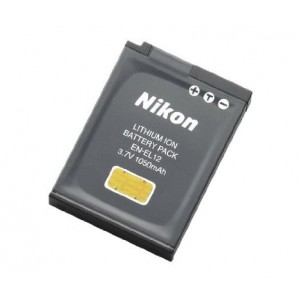 Nikon EN-EL12 Rechargeable Li-Ion Battery for Coolpix