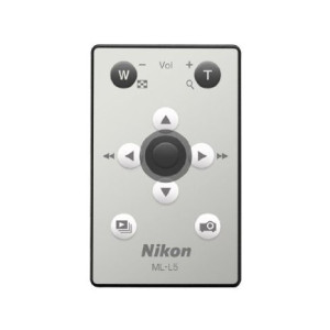 Nikon ML-L5 Remote Control for Nikon Coolpix S1100pj Digital Camera
