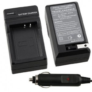Compact Battery Charger Set for Canon LP-E10 Battery