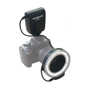 Polaroid Macro LED Ring Flash and Light For The Nikon D5300, D5000, D3000, D3200, D5100, D5200, D3100, D7000, D7100, D4, D800, D800E, D600, D610, D40