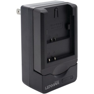 LENMAR CWNB4L LENMAR CWNB4L Camera Battery Charger for Canon NB-4L, NB-4LH (Black)