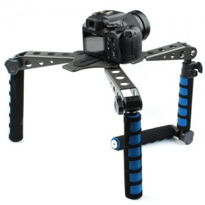Neewer Foldable DSLR Rig Movie Kit Film Making System Shoulder Rig Mount / Shoulder Support Pad for Digital SLR Camera and Camcorder / such as Canon