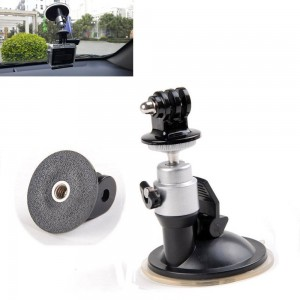 EEEKit for GoPro Hero 1/2/3 Accessory Bundle, Windshield Suction Cup Mount With Ballhead + GoPro Tripod Mount