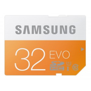 Samsung 32GB EVO Class 10 SDHC up to 48MB/s (MB-SP32D/AM)
