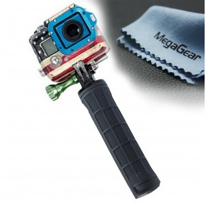 MegaGear Hand Grip, Handle Hand Holder Grip Stabilizer For GoPro, GoPro HD, GoPro Hero 3+, GoPro Hero 4, Sj4000