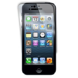 Power Support AFP Crystal Clear Films for New iPhone 5 5S 5C (2 Crystal Front) Japanese Import