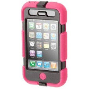 Pink/Black Survivor All-Terrain Case for iPhone 3G/3GS