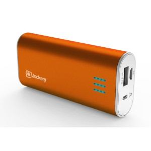 Jackery Bar Premium iPhone Charger External Battery 6000mAh Portable Charger Power Bank for iPhone 6 Plus, 6, 5S, 5C, iPad Air, Mini, Samsung Galaxy