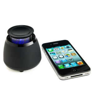 Wireless Bluetooth Speaker- BLKBOX POP360 Hands Free Bluetooth Speaker With 360 Degree Sound - For iPhone 5, 4S, 4, 3GS, iPads, Bluetooth Android Pho