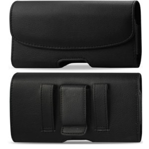 KPOORANBRAND Samsung Galaxy Note 3 III Leather Pouch Case Holster With Belt Clip Belt Loop