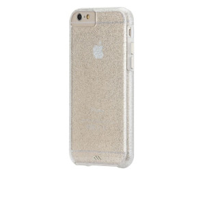 Case-Mate iPhone 6 Sheer Glam - Champagne w/ Clear Bumper