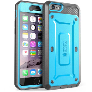 SUPCASE iPhone 6 Plus Case, Full-body Rugged Belt Clip Holster Case for Apple iPhone 6 Plus 5.5 inch [Unicorn Beetle PRO Series] with Built-in Screen