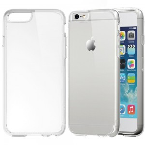 iPhone 6 Case, LUVVITT [CLEARVIEW] iPhone 6 4.7 Case [LIFETIME WARRANTY] **NEW** [Hybrid Clear View Armor Series] [Crystal Clear] Bumper Case with Cl