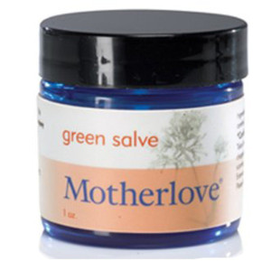 Motherlove Green Salve, 1 oz
