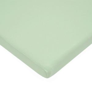American Baby Company 100% Cotton Value Jersey Knit Bassinet Sheet, Celery