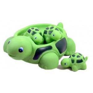 Turtle Family Bath Sets(set of 4) - Floating Bath Tub Toy