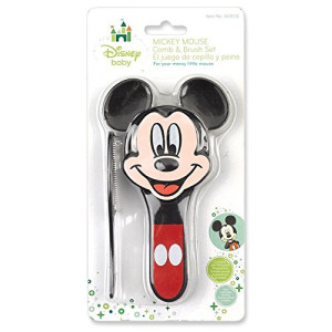 Mickey Mouse Comb and Brush Set